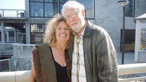 Gloria Avner and David Gitin