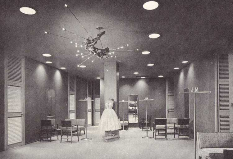 Joseph Magnin space-aged dress salon by Patricksmercy. View the Joseph Magnin Flickr Group organized by Patricksmercy