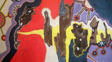 Bandoleros (detail) by Tina Garvin