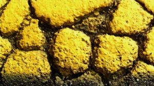 The Yellow Line (detail) - Fabio Sassi