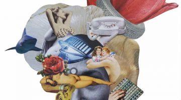Eleven collages by Rebeka Elizegi