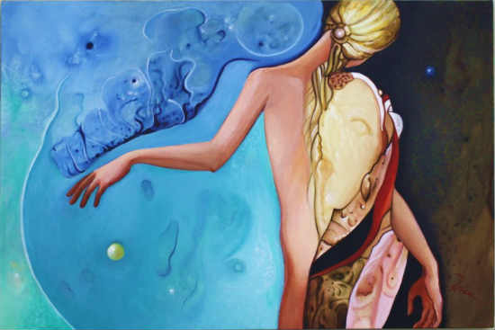 The Mists of Youth oil on Belgian linen canvas, 36 x 24 inches