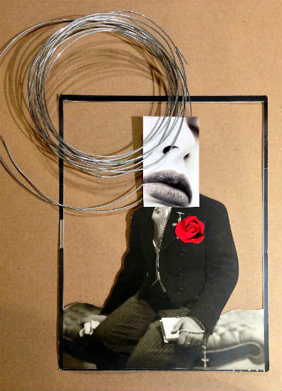 Readymade 2 - collage by Rebeka Elizegi