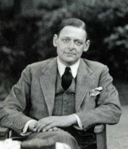 T.S. Eliot by Lady Ottoline Morrell (1934)
