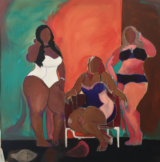 Barry Johnson - 3LW painting