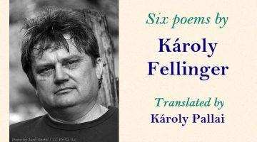 Six Poems by Károly Fellinger, translated by Károly Sándor Pallai