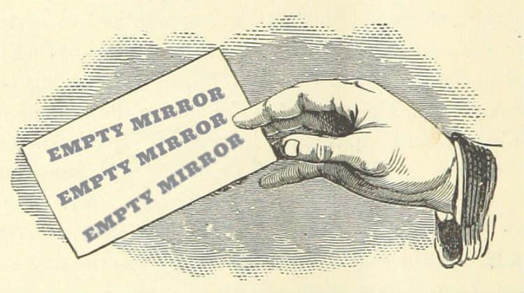 empty mirror magazine