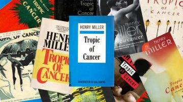 Tropic of Cancer Henry Miller Collage