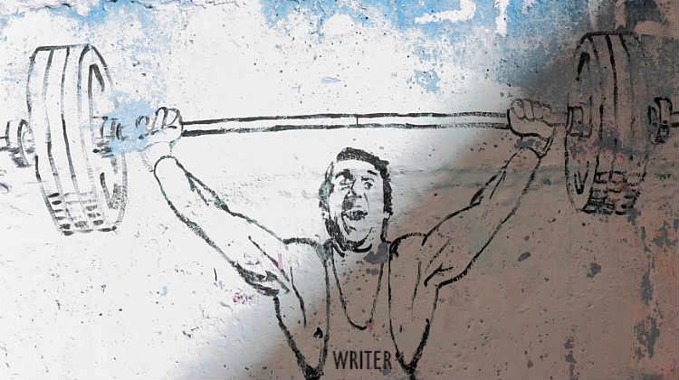 Weighlifter Writer