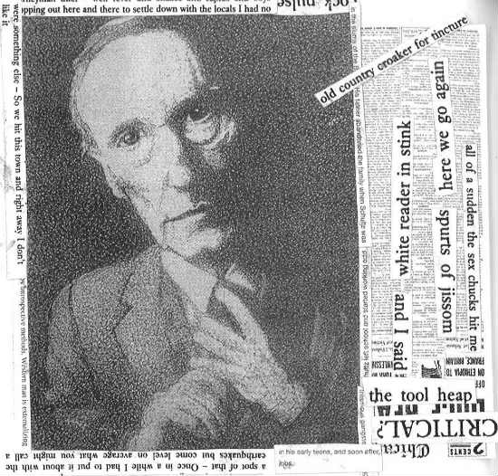 William S. Burroughs by Stephen James