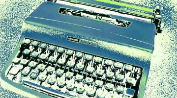 Allen Ginsberg's Typewriter and 2 More Poems by Jim Bennett