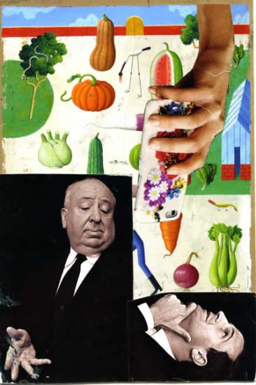 Steve Dalachinsky mail art collage 3