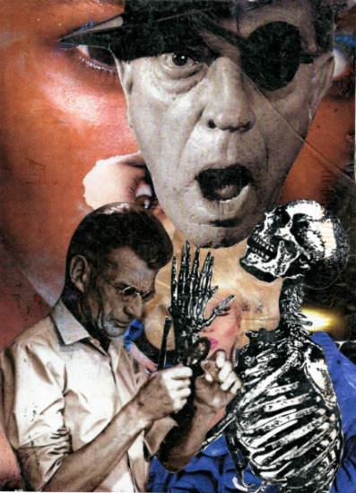 Steve Dalachinsky mail art collage 6