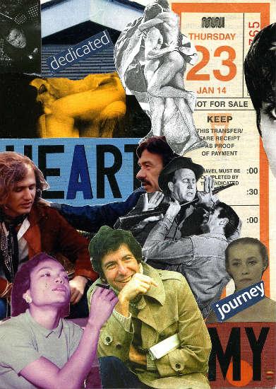 Steve Dalachinsky mail art collage 7