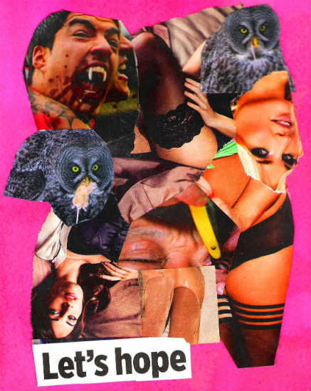 Let's hope - collage by Gary Cummiskey