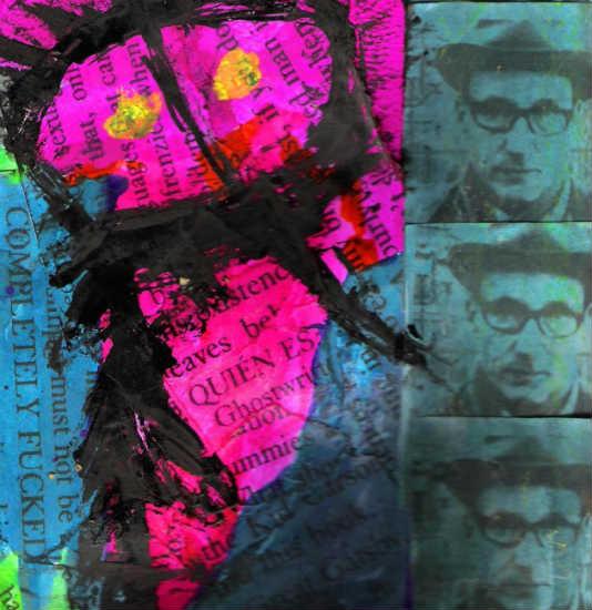 Quién Es? - collage by Gary Cummiskey