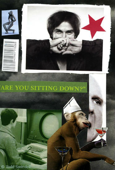 Todd Swindell - Mail Art Collage 3