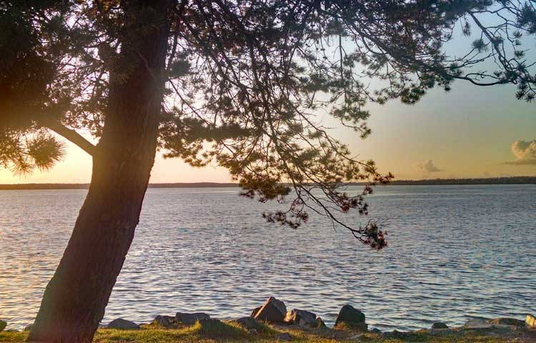 Bellingham, WA sunset -- Boulevard Park