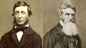 Henry David Thoreau and John Brown