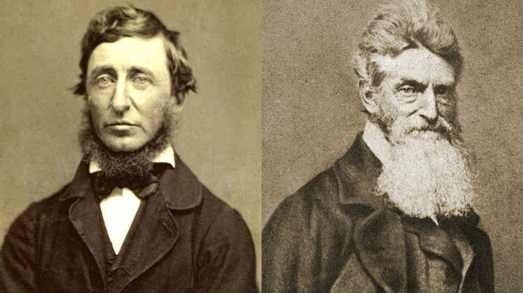 Thoreau john brown essay