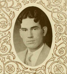 Grandfather, from his 1927 yearbook