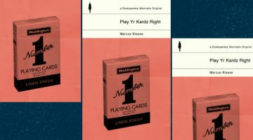 Play Yr Kardz Right by Marcus Slease