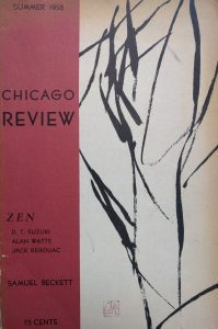 Zen issue, Chicago Review, 1958
