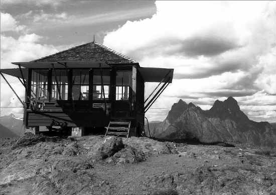 Desolation Peak fire lookout / photo by Pete Hoffman