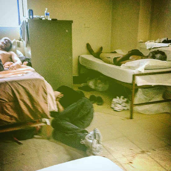 fllor sleep - homeless photo, Braxton Younts