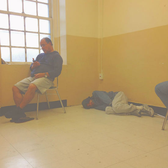 day room - homeless photo, Braxton Younts