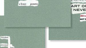 J.I. Kleinberg - word collages