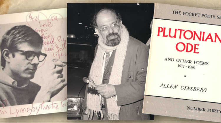 Passing Through:  Allen Ginsberg & Peter Orlovsky in Copenhagen, January 1983