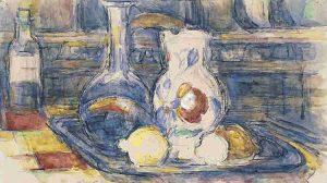 (detail) Bottle, Carafe, Jug and Lemons