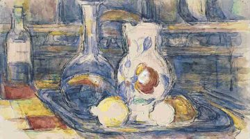 (detail) Bottle, Carafe, Jug and Lemons