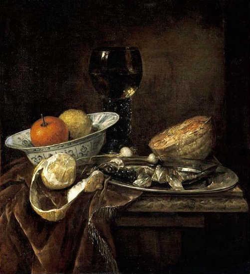 Abraham van Beijeren: Still Life (c. 1655)