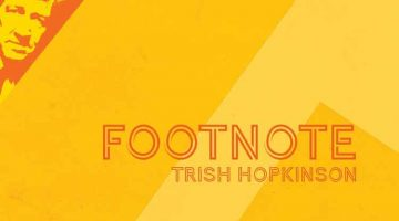 Footnote - poetry - Trish Hopkinson