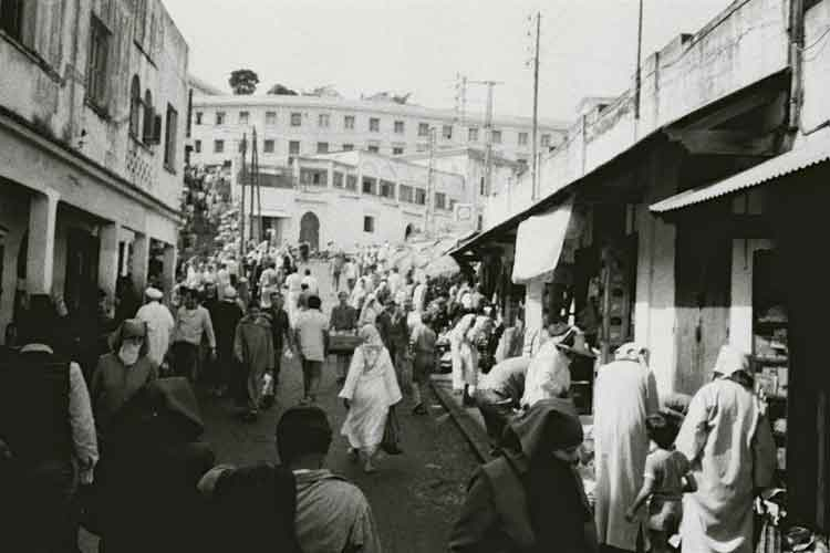 Tangier souk scene. Photo by Mark Terrill.