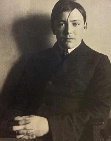 Fig.07: August Macke ca. 1908. August Macke Haus, Bonn, Germany.