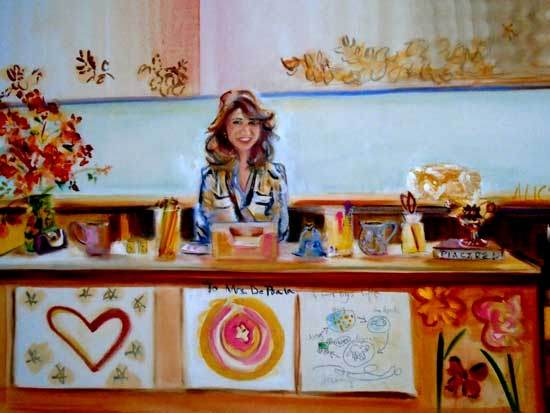 Cahill Elementary Extravaganza by Alison Winfield-Burns, oil on linen, 24 x 36 inches, 2018