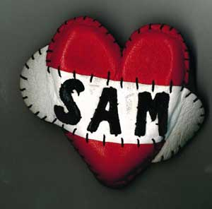 """Sam Heart"" made for Alison by Amy Winehouse's Blake Heart designer"