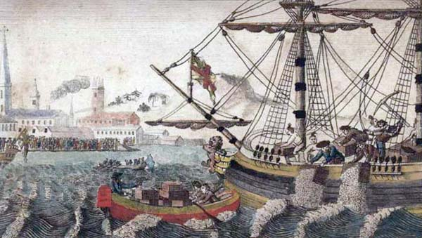 Boston Tea Party - The Dartmouth