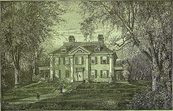 Henry Wadsworth Longfellow house, 1882
