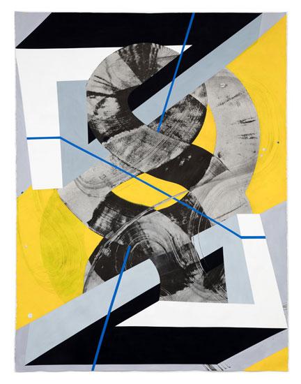 Triangulating Peace - Sky Pape painting