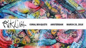 Rik Lina Coral Bouquets Amsterdam Exhibition