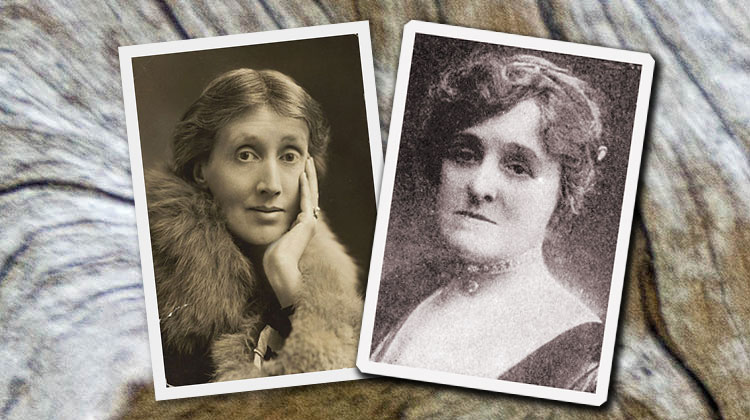 Virginia Woolf & Edith Wharton -- Linda Chown Essay