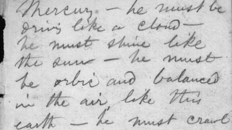 """Visionary Markings: Em Dashes and Ellipses in Walt Whitman's """"Talbot Wilson"""" Notebook"""