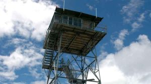 Aztek peak fire lookout - John Yohe / Edward Abbey