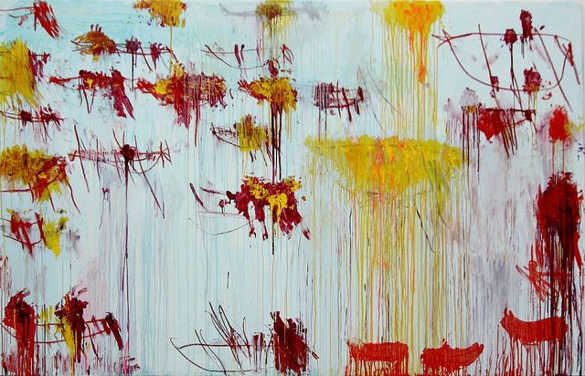 Lepanto panel 10 by Cy Twombly