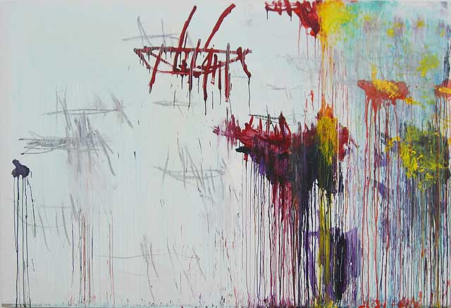 Lepanto panel 6 by Cy Twombly