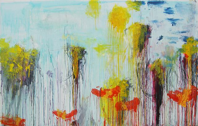 Lepanto, panel 3 by Cy Twombly